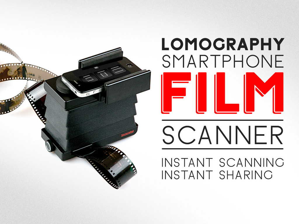 The Lomography Smartphone Film Scanner's video poster