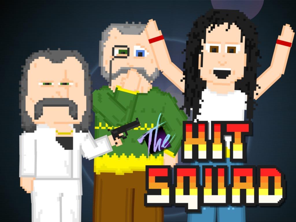 The Hit Squad -  A pixellated animated comedy movie!'s video poster