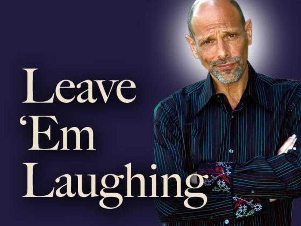 """""""LEAVE 'EM LAUGHING""""        - Robert Schimmel Documentary's video poster"""