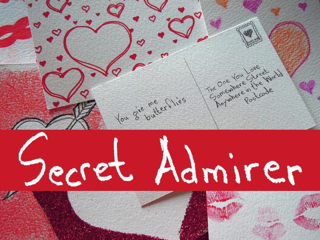 Secret Admirer's video poster