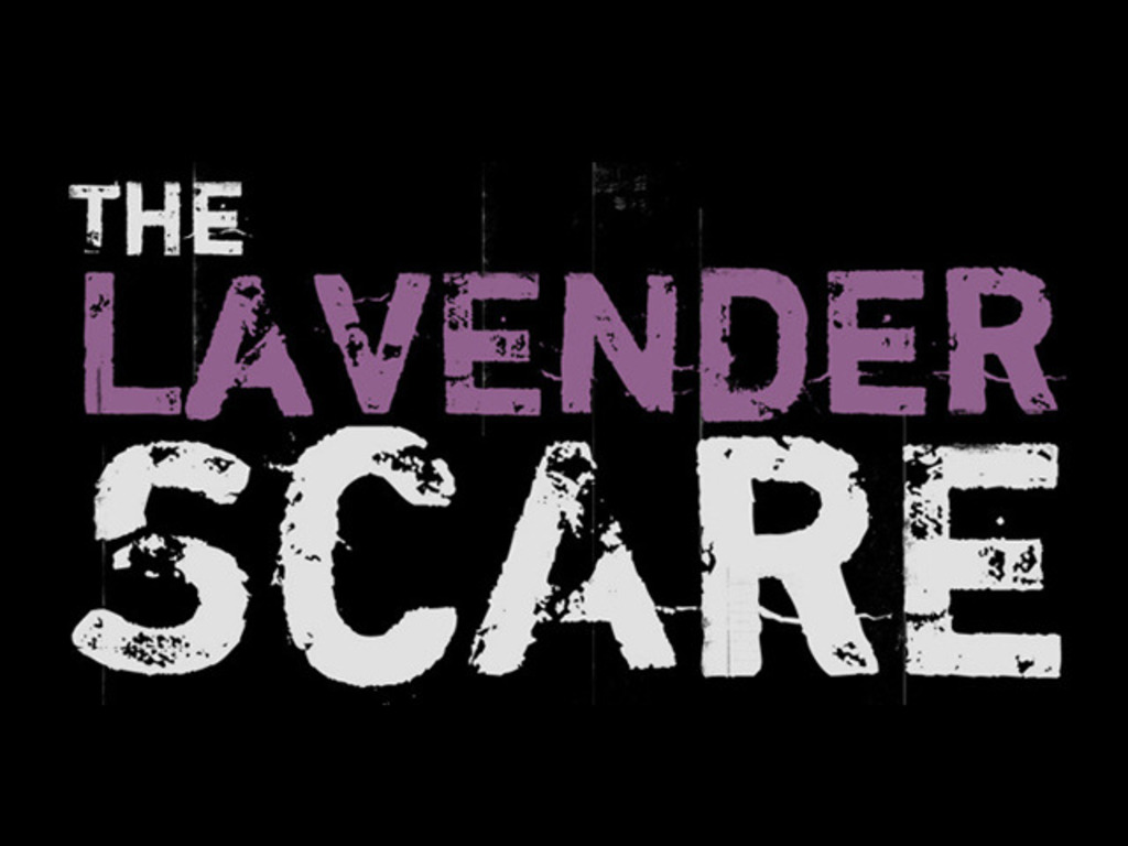 THE LAVENDER SCARE - A documentary film's video poster