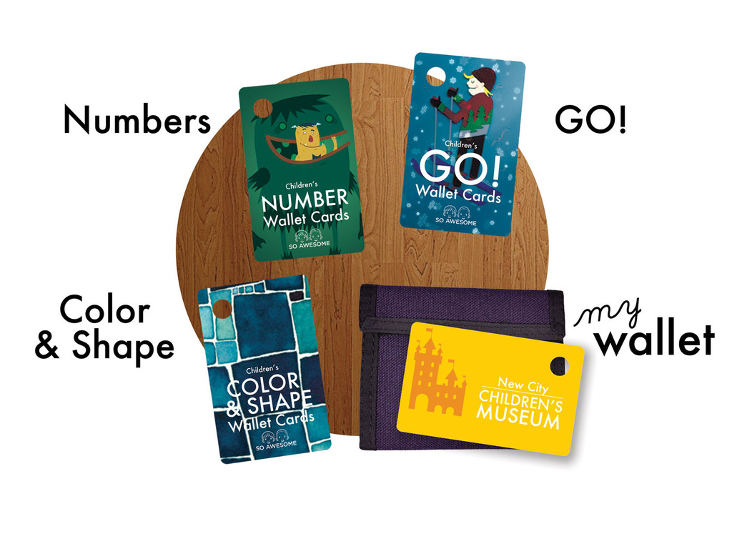 Children's Wallet Cards: Color & Shape, Numbers, GO, Wallet's video poster