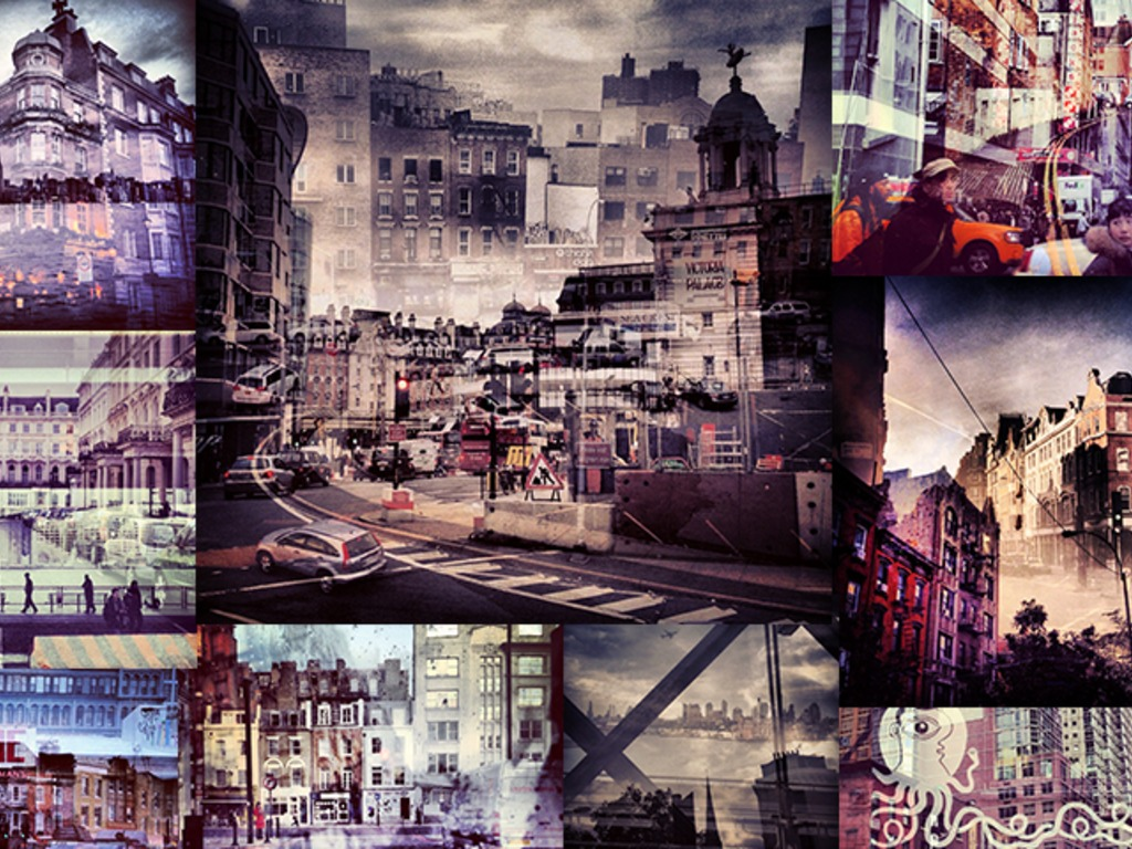 New York + London: A Collection of Double Exposures's video poster