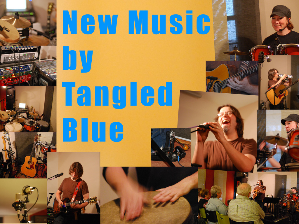 New Music for Worship by Tangled Blue's video poster