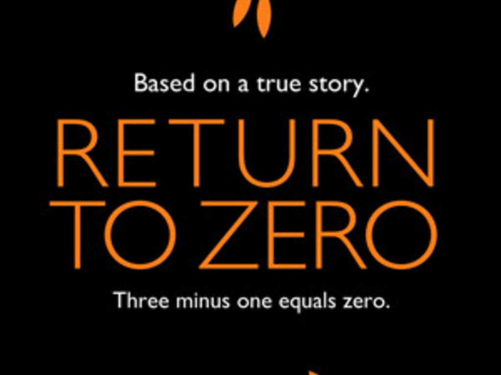 """""""Return to Zero"""" Starring Minnie Driver and Paul Adelstein's video poster"""