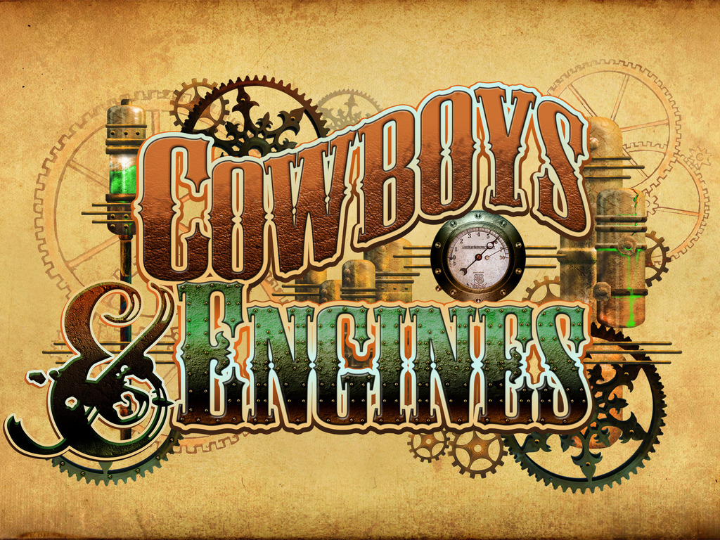Cowboys & Engines: A Steampunk Film's video poster