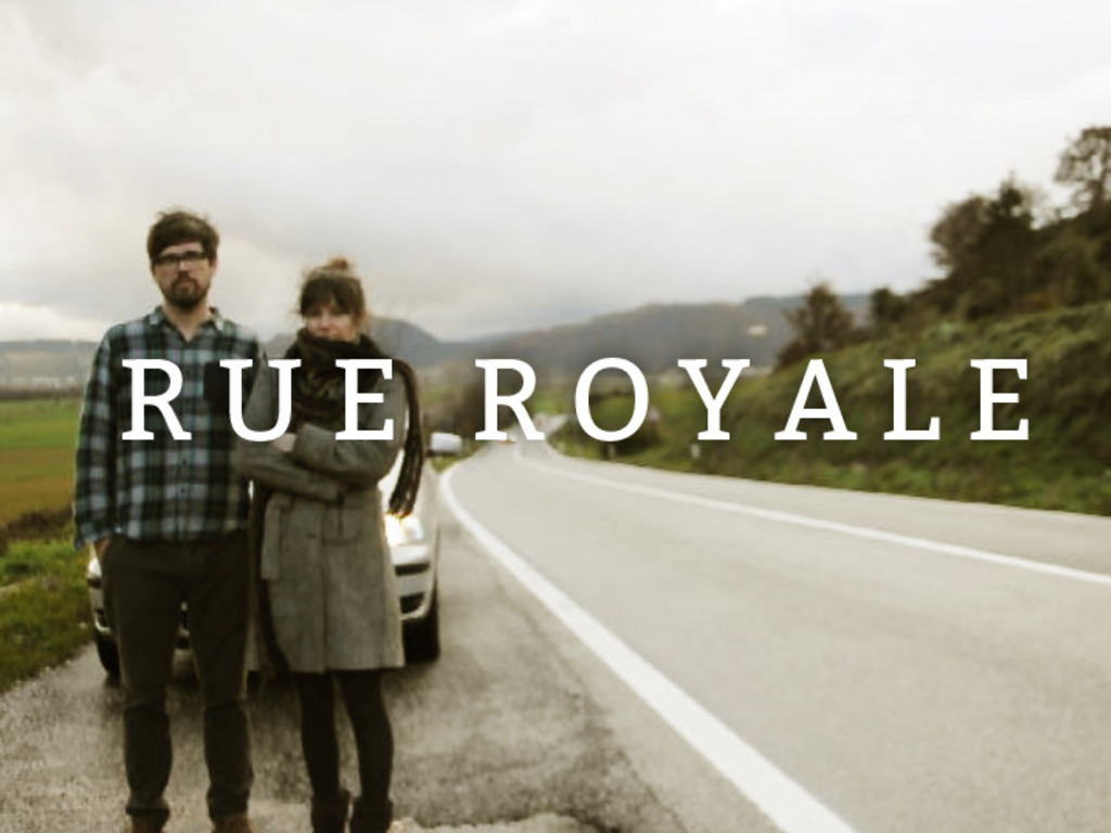 Join the journey of Rue Royale as they make a new album's video poster