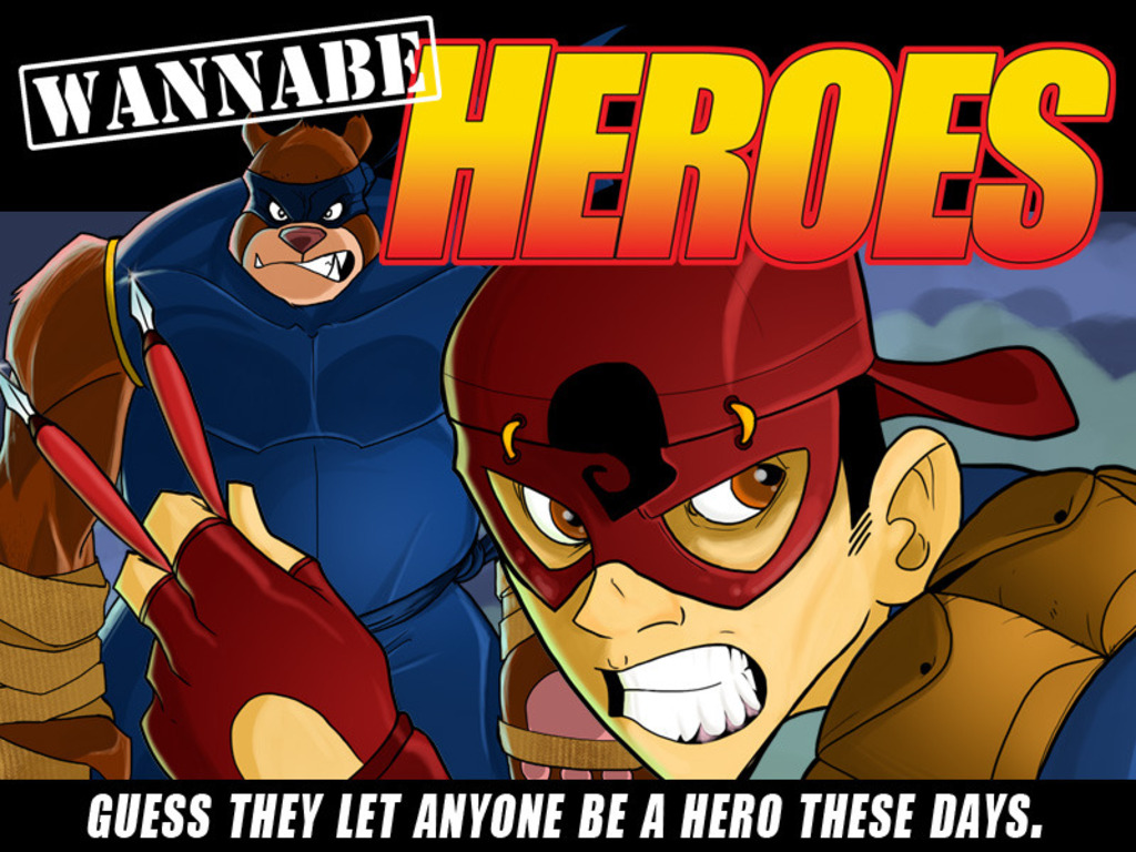Wannabe Heroes: Issue One's video poster