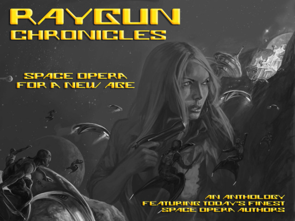 Raygun Chronicles: Space Opera (Science Fiction Anthology)'s video poster