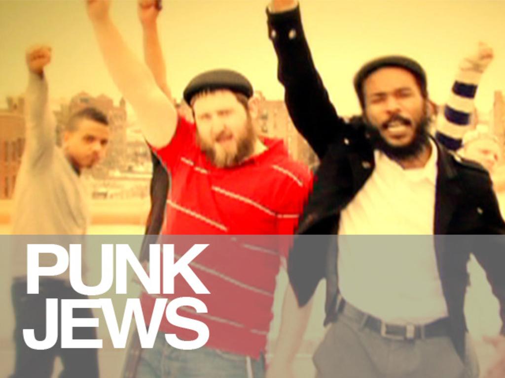 Punk Jews's video poster