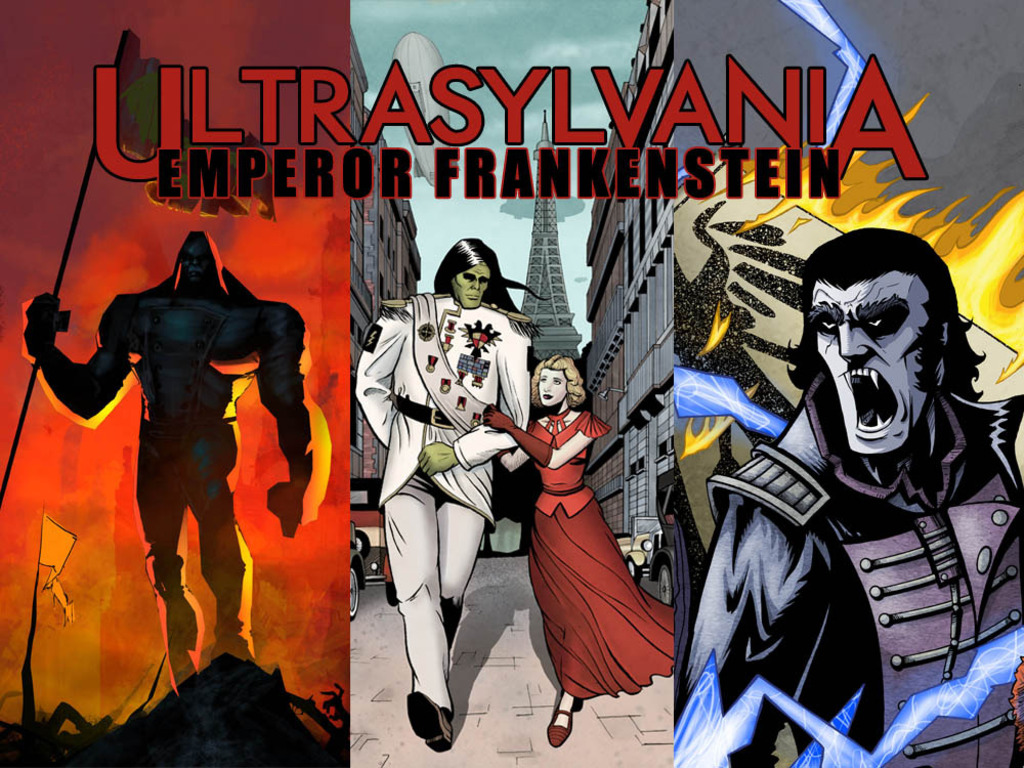 Ultrasylvania, Vol 2: Emperor Frankenstein's video poster
