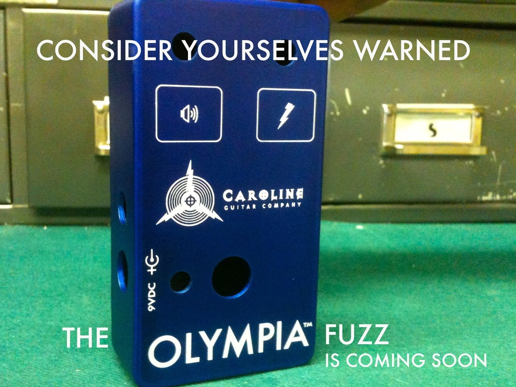 Caroline Olympia Fuzz pedal - let's make it happen!'s video poster