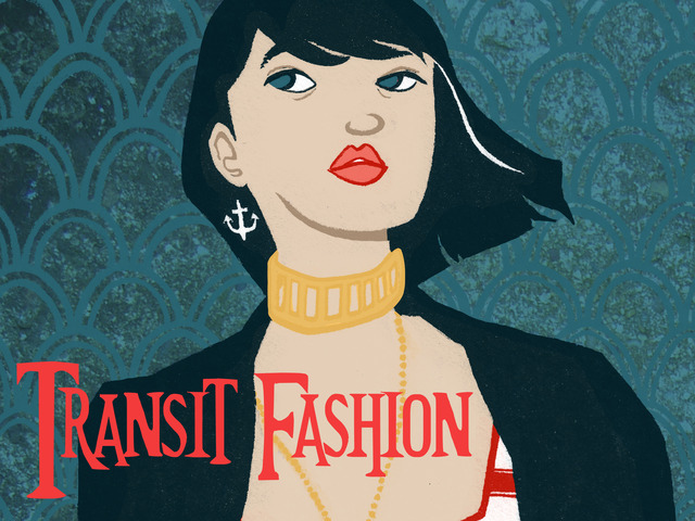 Transit Fashion A Nyc Street Style Art Book By Eileen Mclain Kickstarter