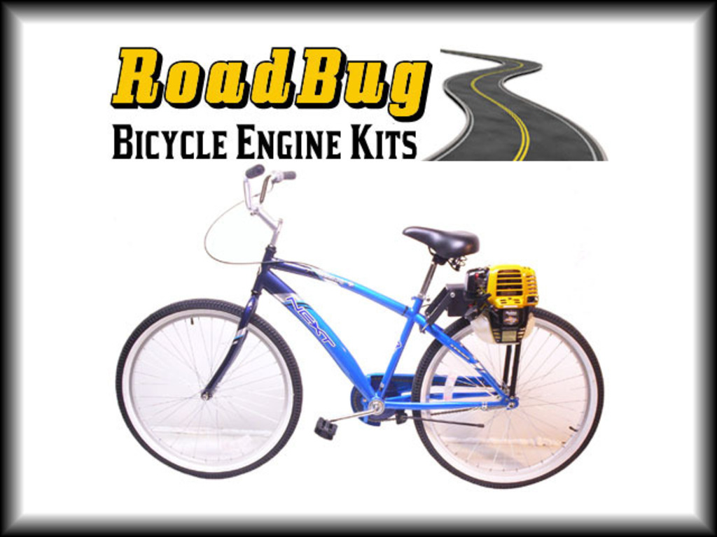 RoadBug Motorized Bicycle Kit's video poster
