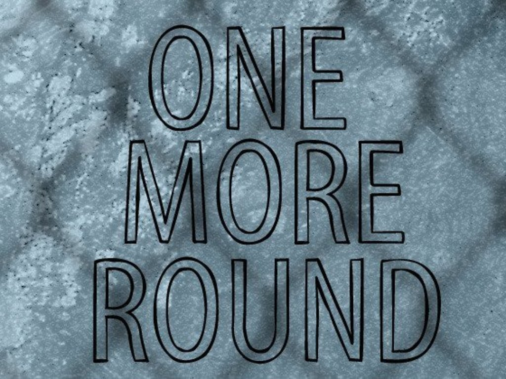 One More Round - a MMA Short Film's video poster