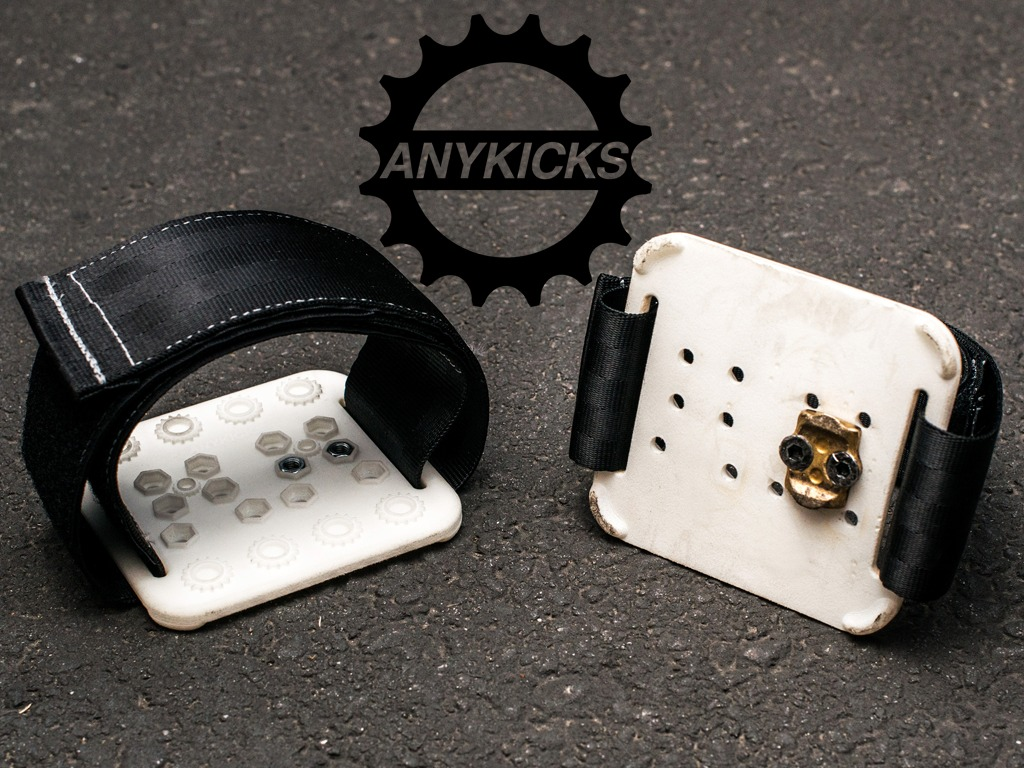 AnyKicks - Clipless pedals have met their match's video poster
