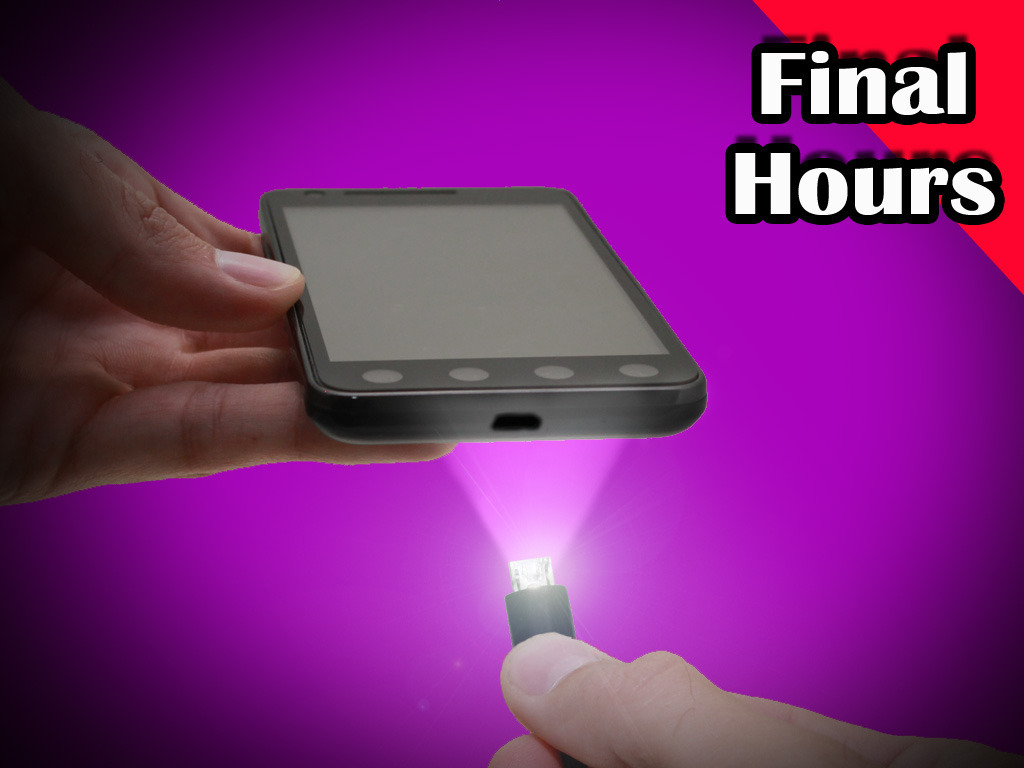 USB Micro Light Charger Cable for Cameras & Android phones's video poster