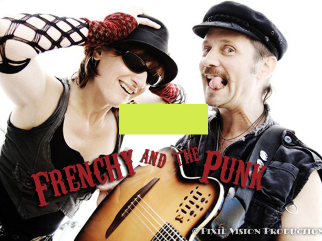 Frenchy and the Punk's BIG music project; 2 full length CDs!'s video poster