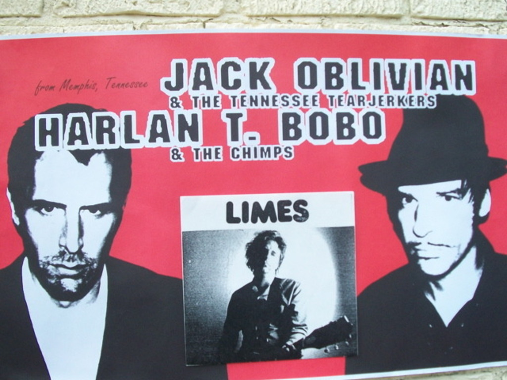 Jack Oblivian Harlan t Bobo Limes european tour's video poster