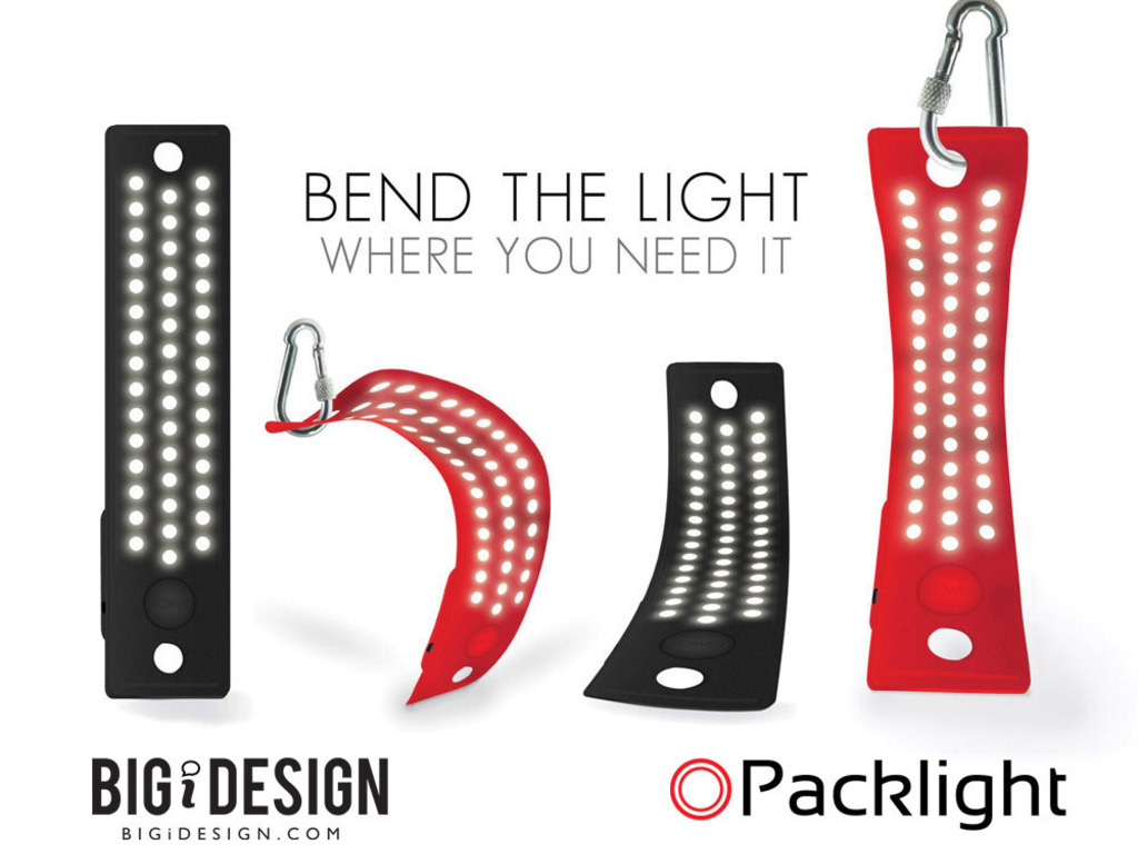 45 LED Packlight - Lets You Bend Light Where You Need It's video poster