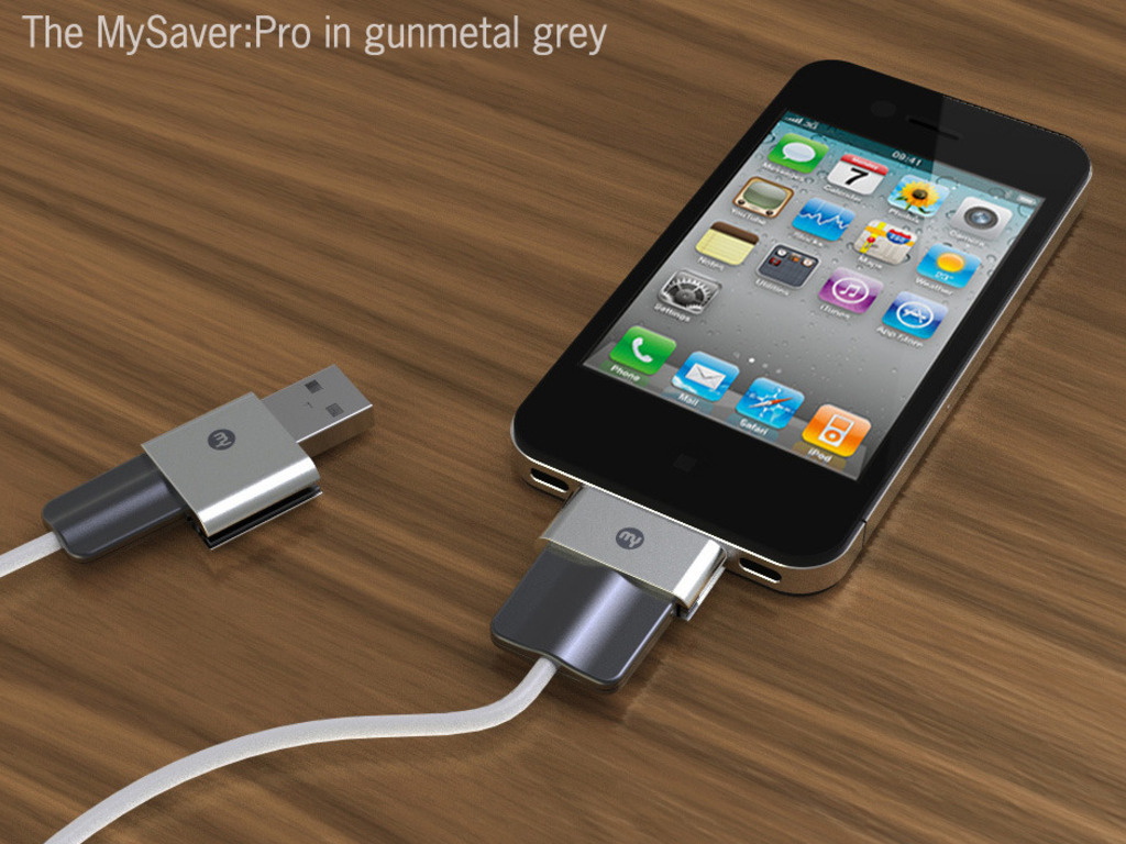 MySaver: protection for your iPad, iPhone, and iPod cables's video poster