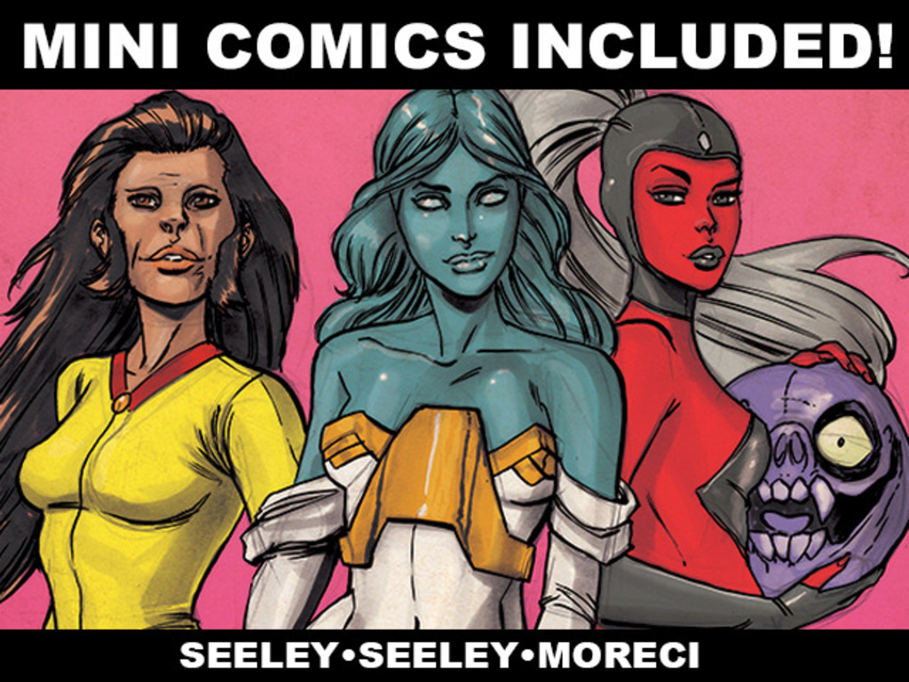 Mini Comics Included: by Mike Moreci, Steve and Tim Seeley's video poster