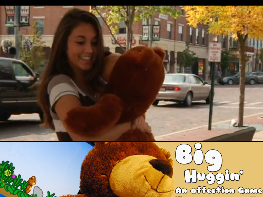 Big Huggin' - Giant Bear Hugging Video Game's video poster