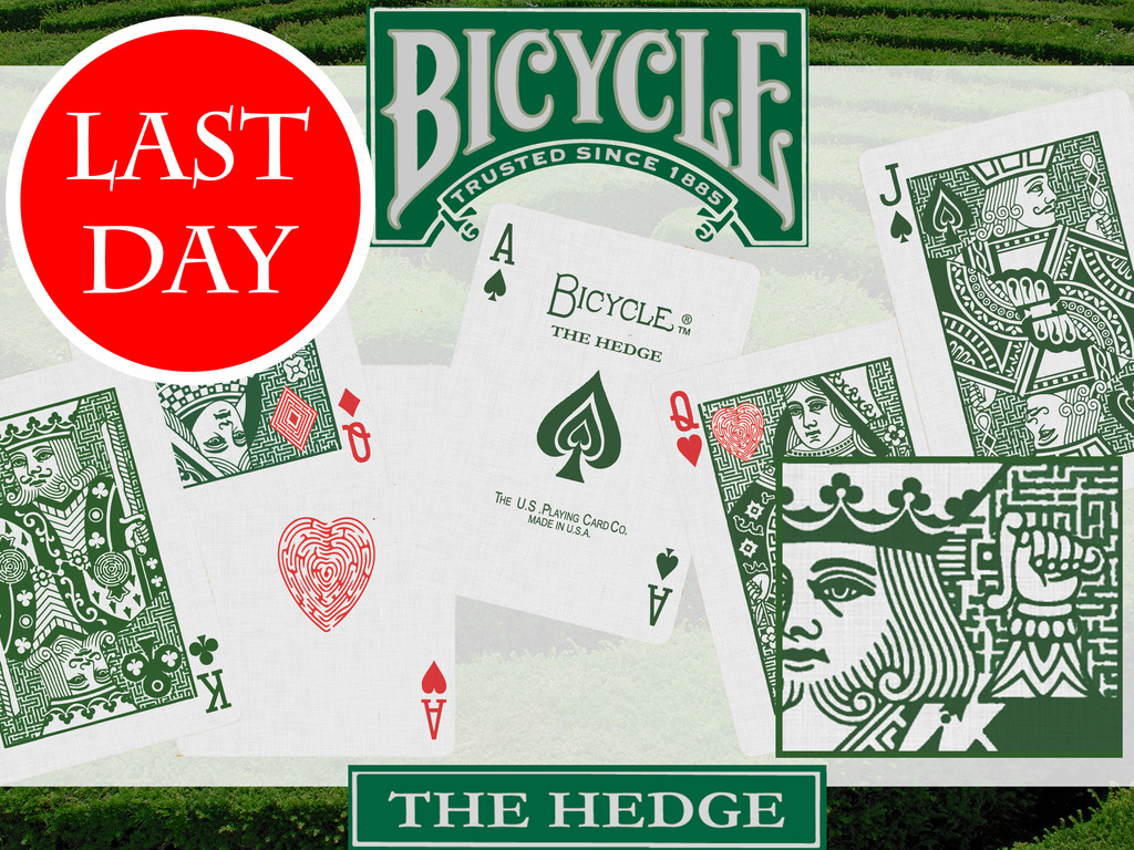 """""""THE HEDGE""""  Bicycle® Maze Playing Card Deck's video poster"""