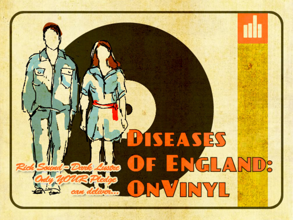 Diseases of England ON VINYL's video poster