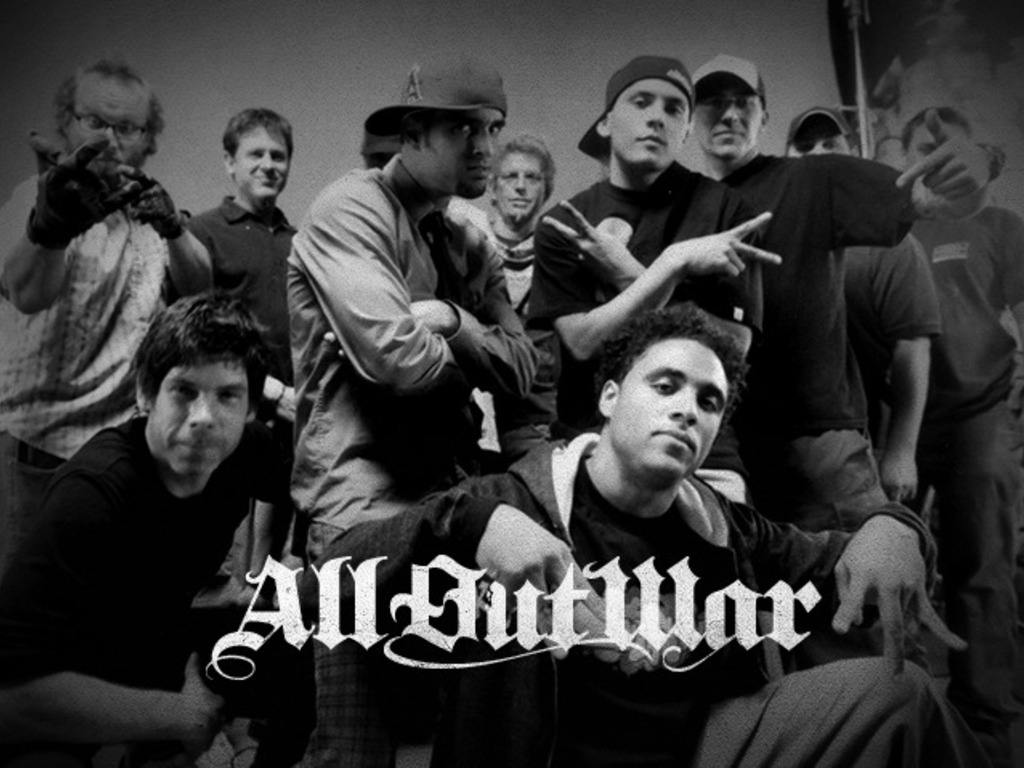 All Out War's video poster