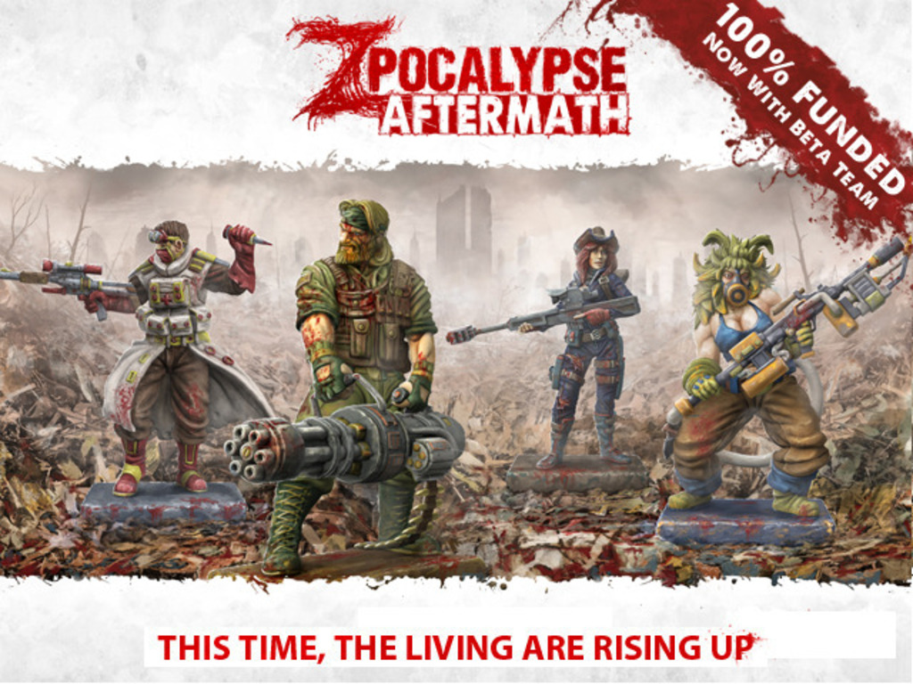 Zpocalypse Aftermath: This Time, the Living are Rising Up's video poster