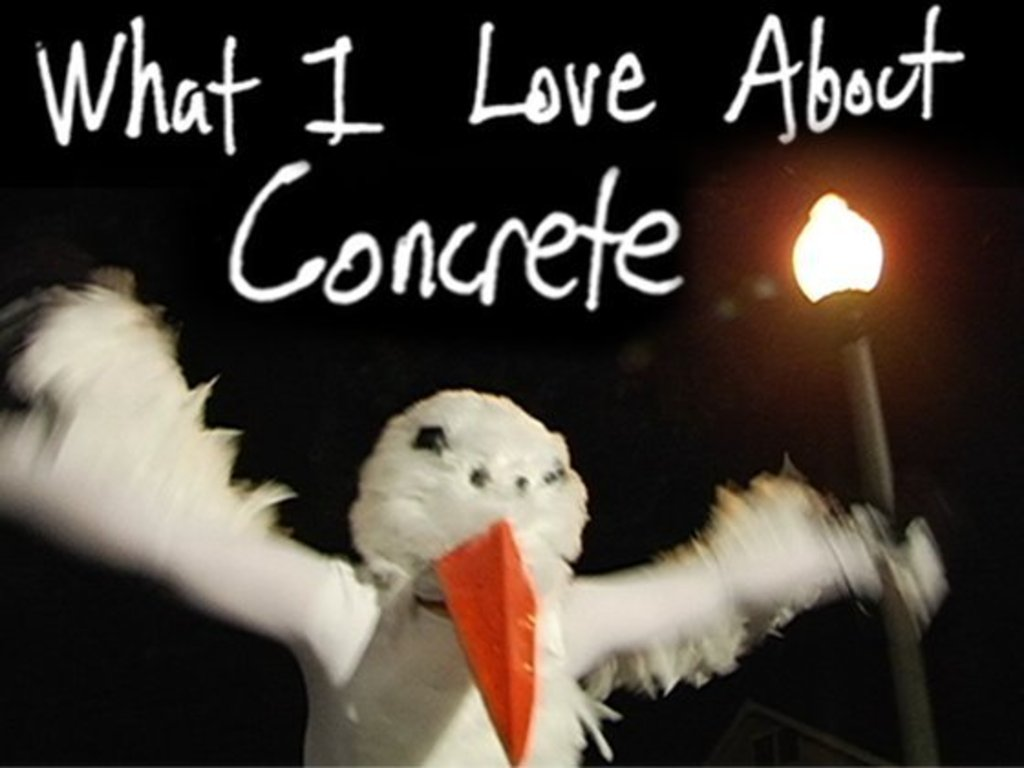 What I Love About Concrete - a homemade Memphis fairy tale's video poster