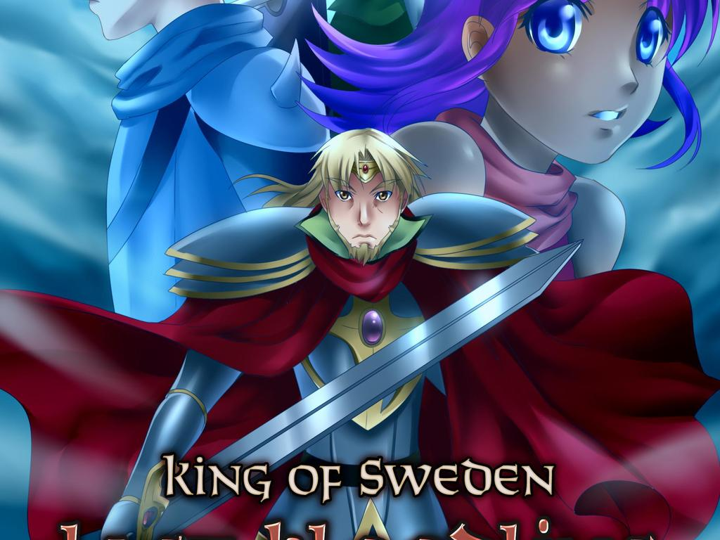King of Sweden's video poster