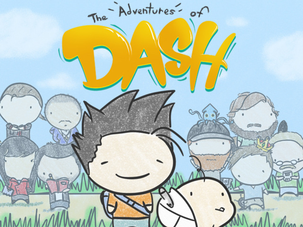 The Adventures of Dash: A 2D platform and puzzle adventure!'s video poster