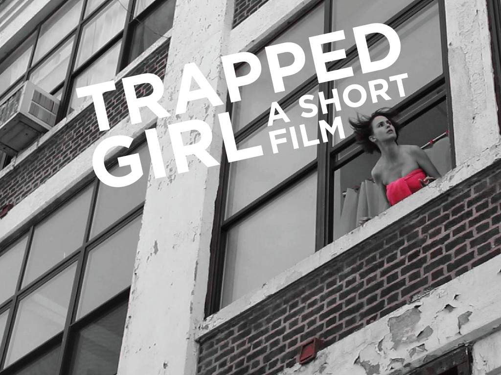 Trapped Girl's video poster