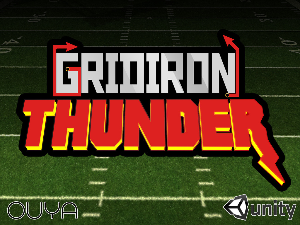 Gridiron Thunder - Awesome Indie Football Game For OUYA's video poster