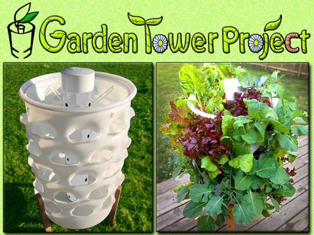 GARDEN TOWER: Composting + 50 Plants = Fresh Food Anywhere.'s video poster