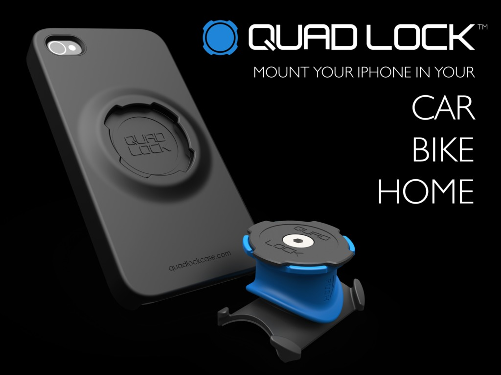 Quad Lock - iPhone Case Mounting System's video poster