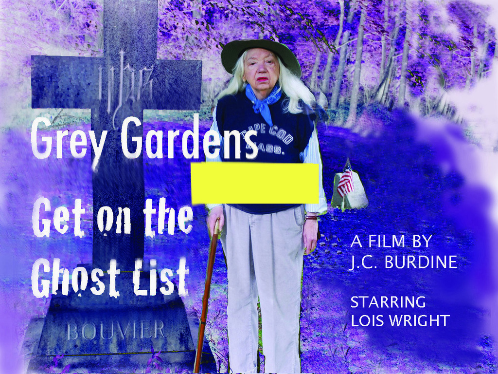 The finish line for GREY GARDENS GET ON THE GHOST LIST's video poster