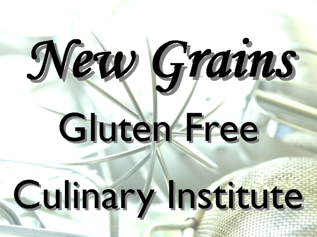 Gluten Free Culinary Institute Facility's video poster