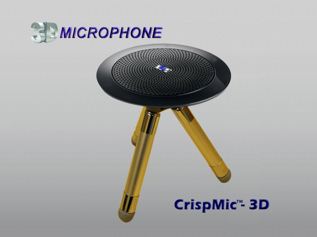 CrispMic™–3D Microphone's video poster