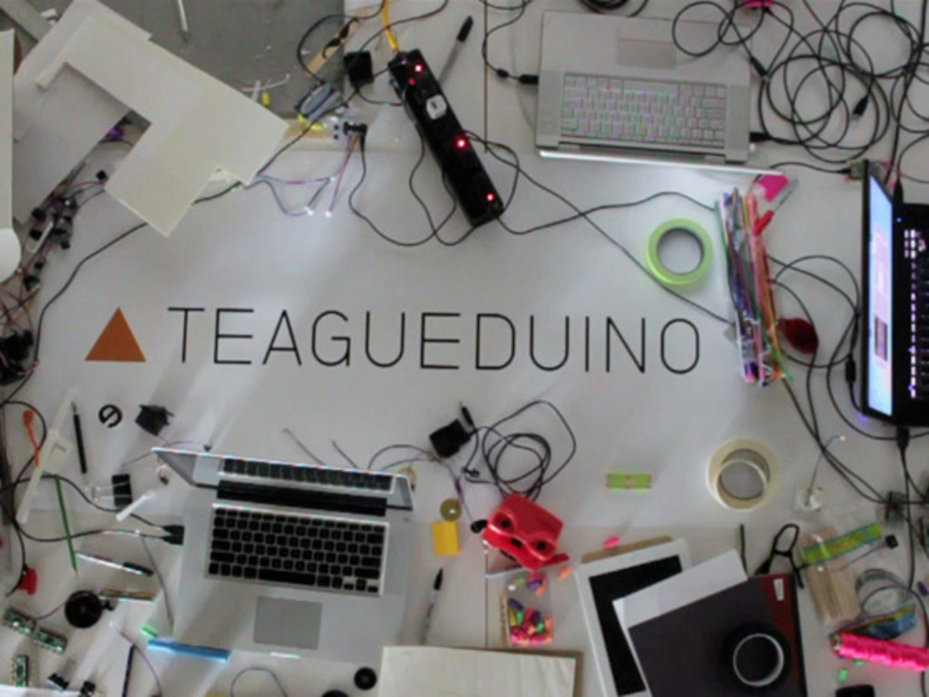 Teagueduino: Learn to Make's video poster