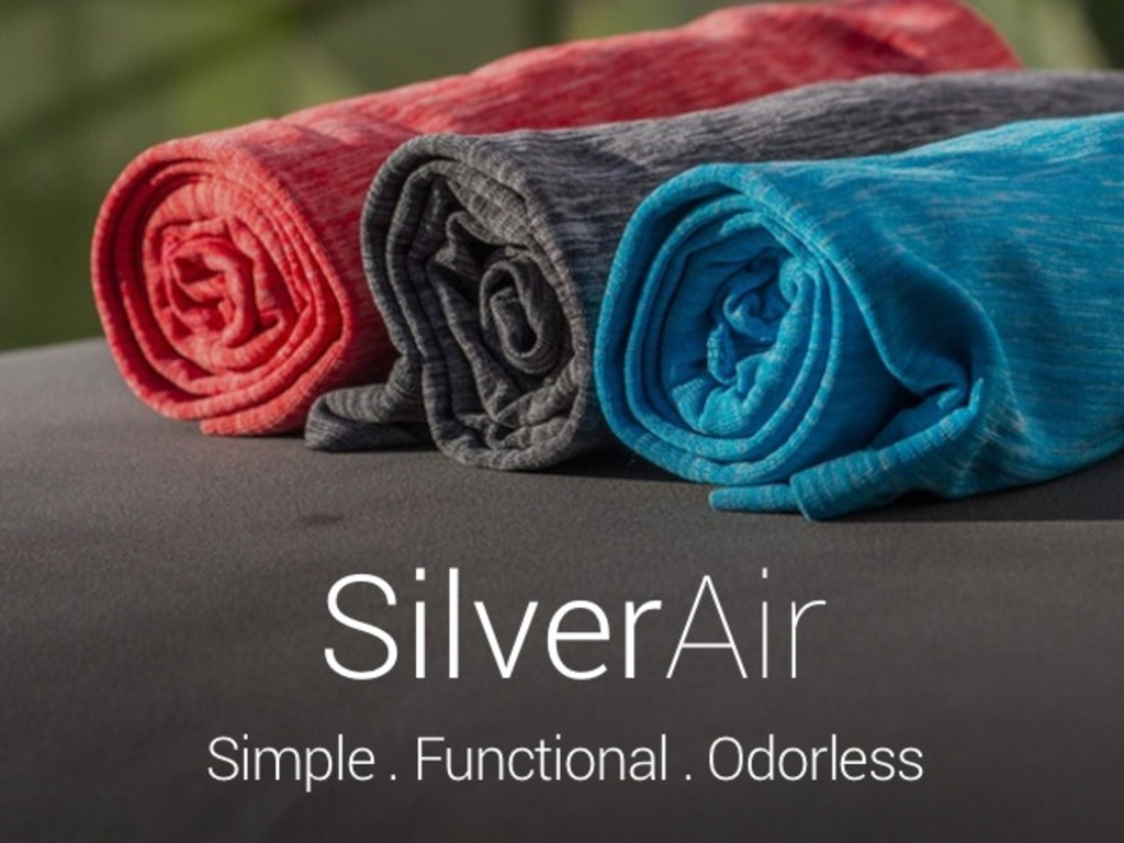 SilverAir™: Odorless Athletic Shirts Made With Pure Silver's video poster