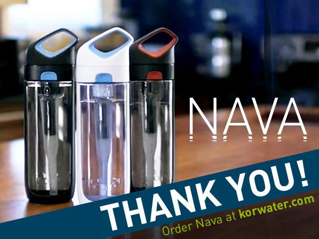 Nava: A Revolutionary Filtering Water Bottle