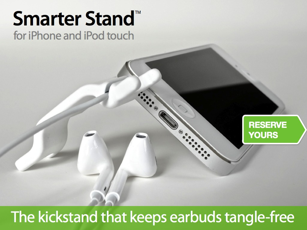 Smarter Stand for iPhone and iPod touch's video poster