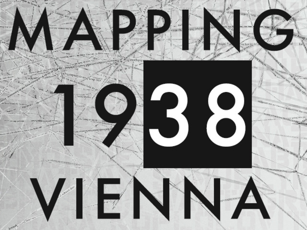 Mapping 1938 Vienna's video poster