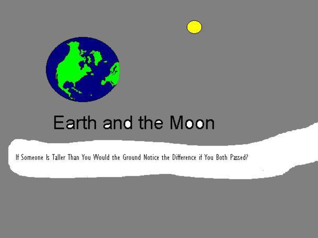 Earth and the Moon comic a day for a year's video poster