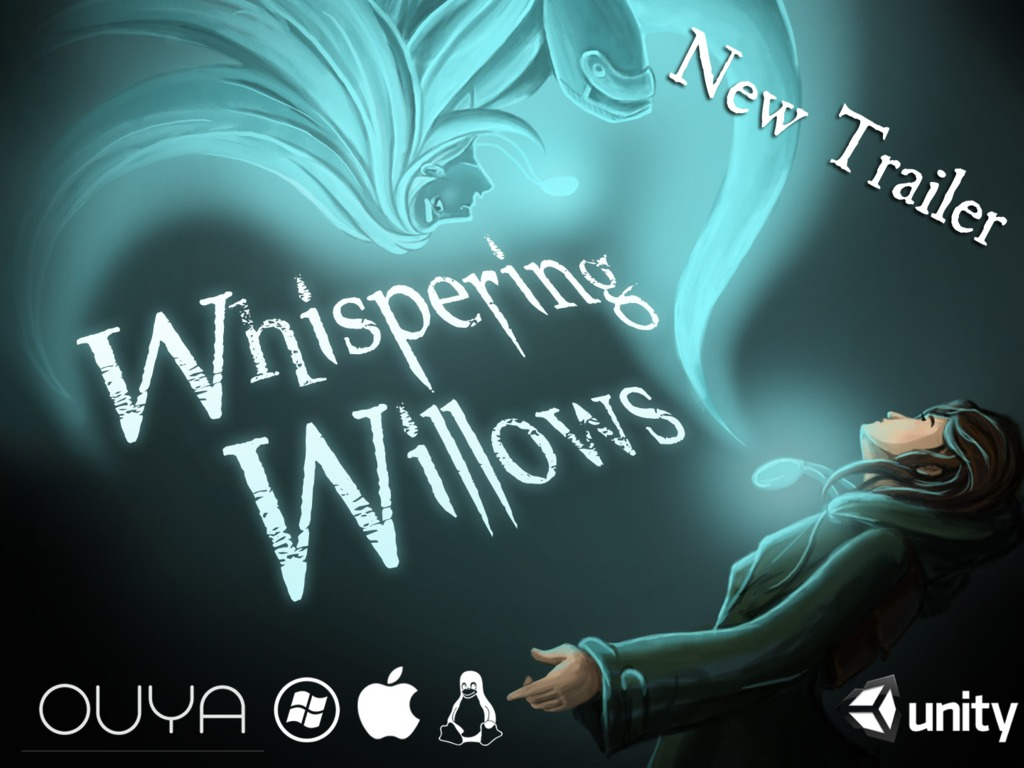 Whispering Willows - Horror Puzzle Game for OUYA, PC, Linux's video poster