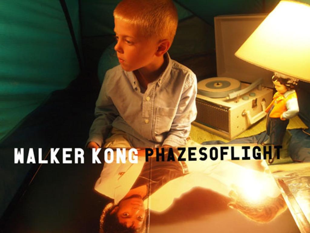 WALKER KONG the new album PHAZES OF LIGHT's video poster