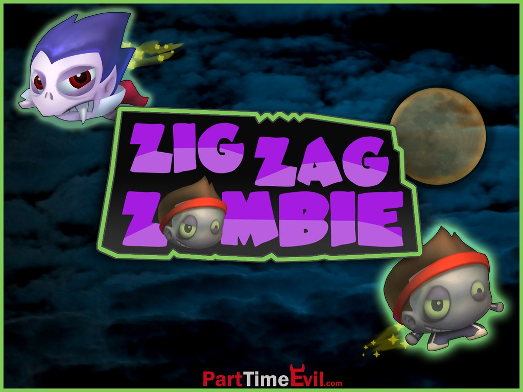 Zig Zag Zombie: Quirky Physics Puzzler for iPhone's video poster
